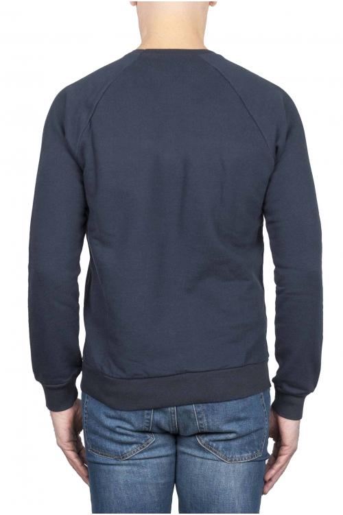 ブルーロゴスウェットシャツ