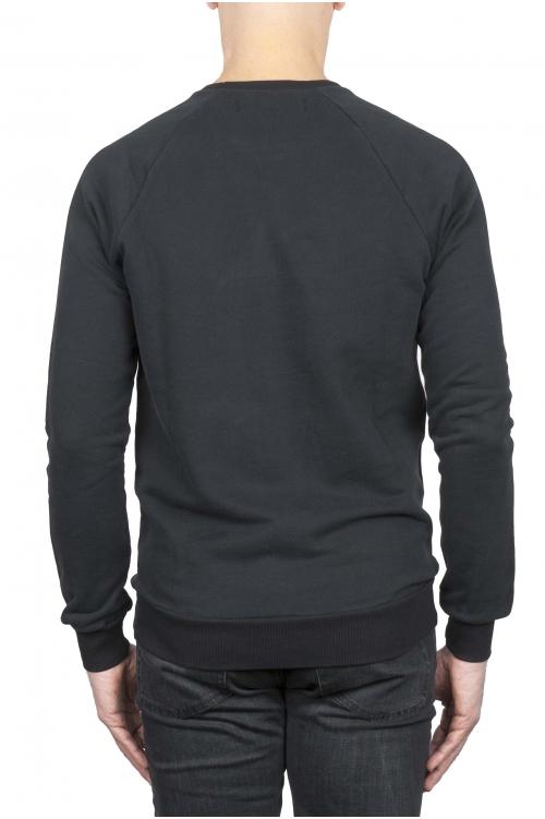 ブラックロゴスウェットシャツ