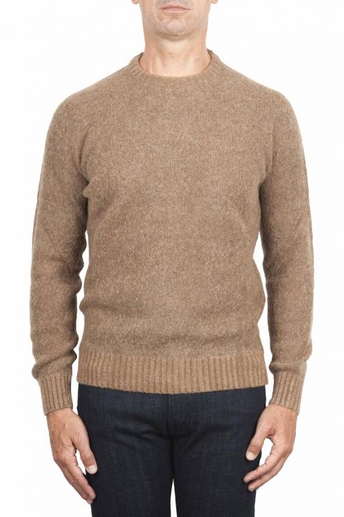 Suéter boucle beige