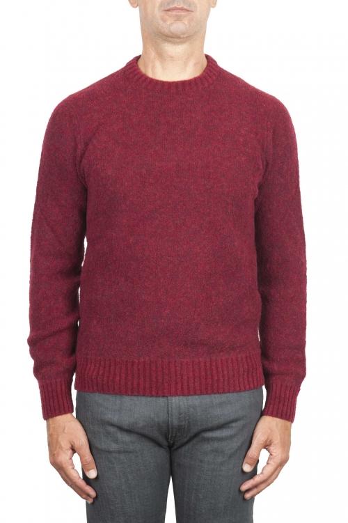 赤いブーツのセーター