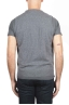 SBU 01485 Chaleco gris de cuello redondo en lana merino y cachemira 04