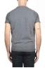 SBU 01485 Maglia gilet girocollo in filato di lana merino e cashmere grigia 04