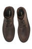 SBU 01509 Classic high top desert boots in brown oiled calfskin leather 04