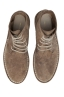 SBU 01510 Classic high top desert boots in beige oiled calfskin leather 04