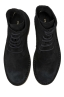 SBU 01513 Classic high top desert boots in pelle scamosciata nera 04
