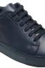 SBU 01525 Sneakers stringate classiche di pelle blu 06