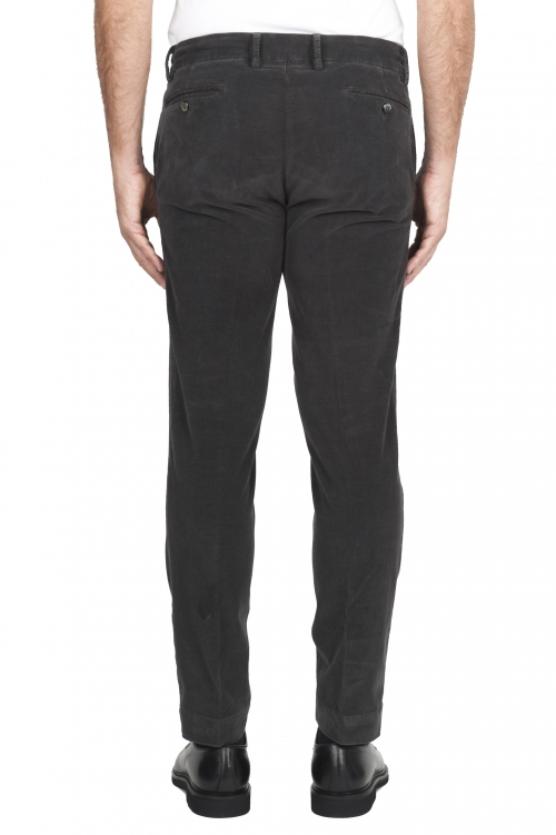 SBU 01545 Classic chino pants in grey stretch cotton 01