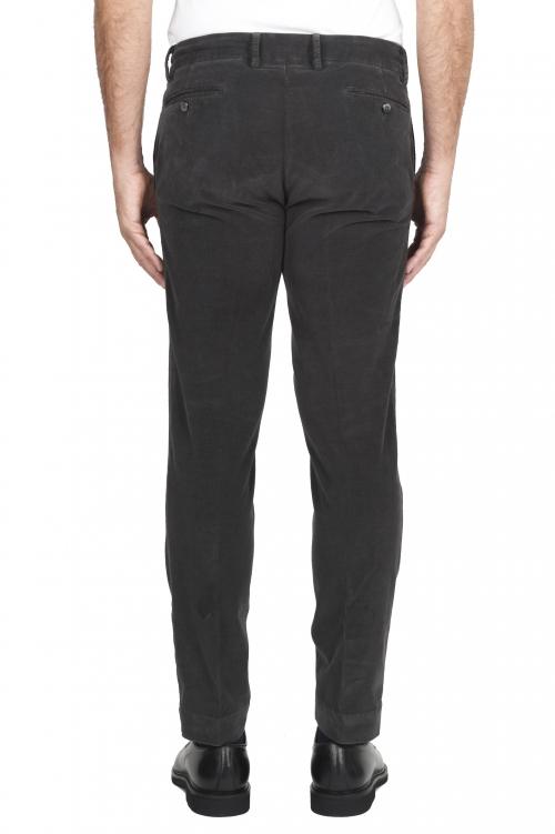 SBU 01545 Pantalon chino classique en coton stretch gris 01