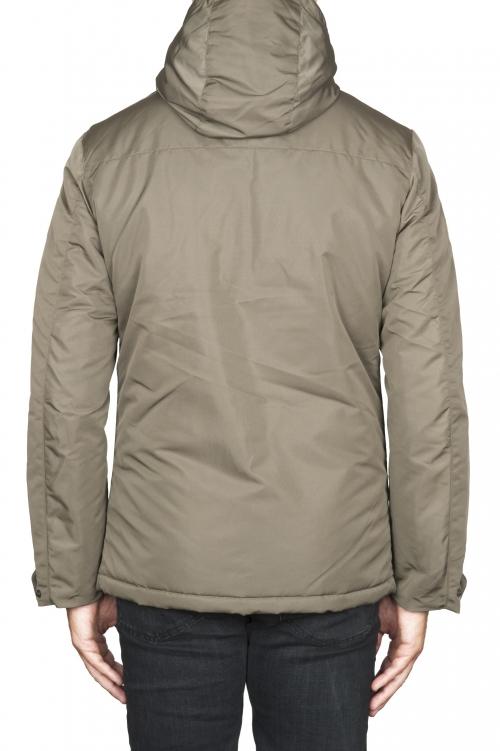 SBU 01555 技術的な防水パッディングショートパーカージャケット 01
