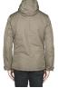 SBU 01555 Technical waterproof padded short parka jacket green 04