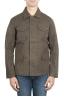 SBU 01561 風と防水のハンタージャケット、黒色の綿花 01