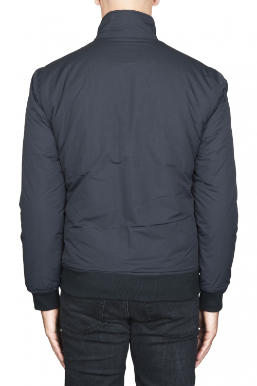 SBU 01562 Bomber jacket padded winter windbreaker black 01