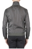 SBU 01564 Windbreaker bomber jacket in grey ultra-lightweight nylon 04