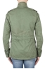 SBU 01567 Stone washed green cotton military field jacket 04