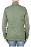 SBU 01567 Veste de campagne militaire en coton vert délavé 04
