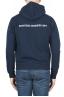 SBU 01464 Sweat à capuche en jersey de coton bleu 04