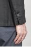 SBU - Strategic Business Unit - シングルブレスト・アンライン2ボタン・ジャケット(ブラック・リネン)