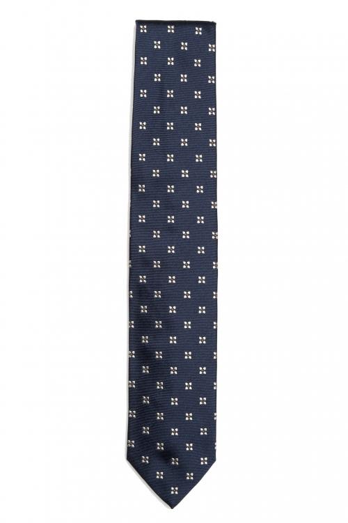 SBU 01578 Corbata clásica de seda hecha a mano 01