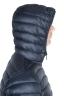 SBU 01584 Piumino con cappuccio termico antivento e traspirante blu 05
