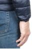 SBU 01584 Piumino con cappuccio termico antivento e traspirante blu 06
