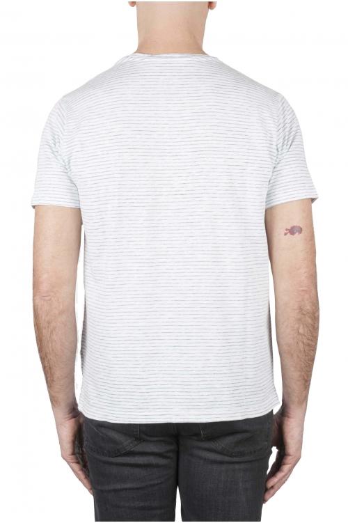 SBU 01161 Camiseta con cuello redondo a rayas 01