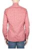SBU 01592 Camisa de algodón estampado geométrico rojo 04