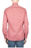 SBU 01592 Geometric printed pattern red cotton shirt 04