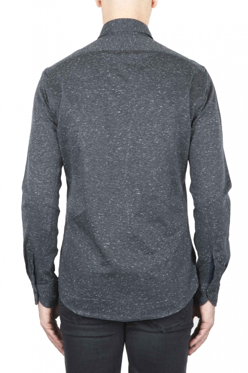Grey Mouline shirt