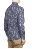 SBU 01600 Camicia fantasia floreale in cotone blue 04