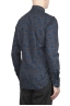 SBU 01602 Camicia fantasia floreale in cotone blue 04