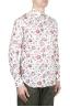 SBU 01603 花柄プリント赤コットンシャツ 02