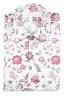 SBU 01603 Chemise en coton rouge à imprimé fleuri 06