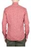 SBU 01604 Camisa de algodón estampado floral roja 05