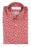 SBU 01604 Chemise en coton rouge à imprimé fleuri 06