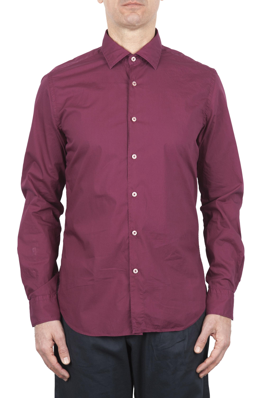 SBU 01607 Camicia in cotone super leggero rossa 01