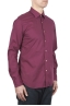 SBU 01607 Camicia in cotone super leggero rossa 02