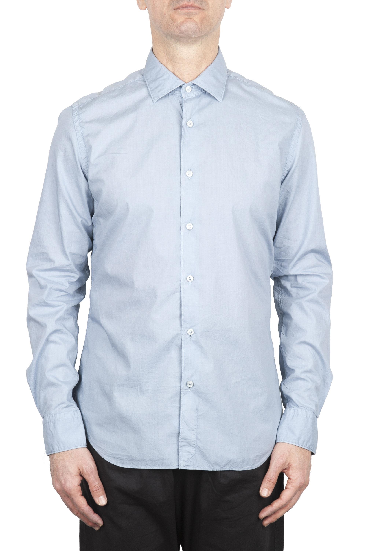 SBU 01608 Pearl grey super light cotton shirt 01