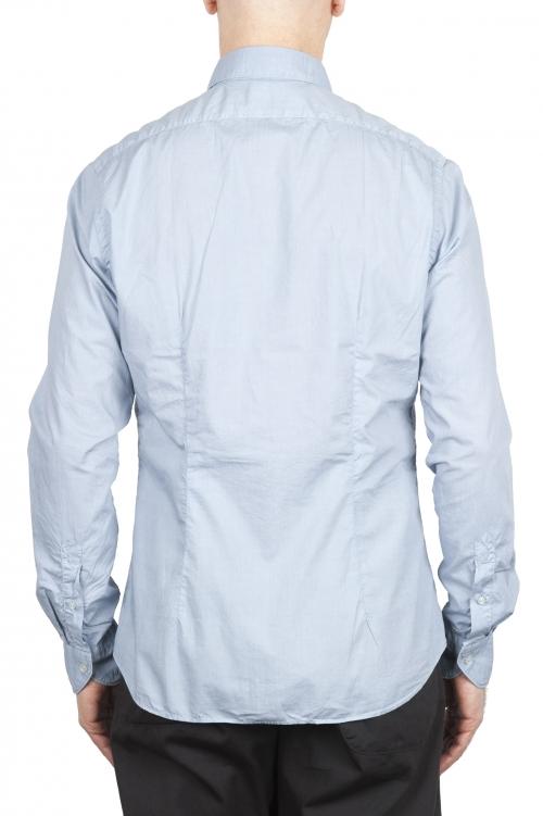 SBU 01608 Camisa gris perla super ligera de algodón 01