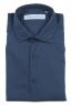 SBU 01609 Camicia in cotone super leggero blu 06