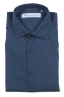 SBU 01609 Camisa azul super ligera de algodón 06
