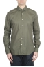 SBU 01610 Green super light cotton shirt 01