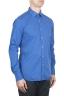 SBU 01611 Camisa azul China super ligera de algodón 02