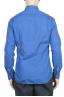SBU 01611 Camicia in cotone super leggero blu Cina 05