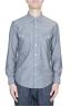 SBU 01613 Camisa western de algodón chambray gris 01