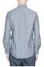 SBU 01613 Camisa western de algodón chambray gris 05