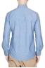 SBU 01615 Camisa western de algodón chambray índigo 05