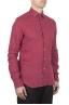 SBU 01623 Classic red linen shirt 02