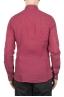 SBU 01623 Camicia classica in lino rossa 05