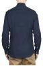 SBU 01633 Pure indigo dyed classic cotton shirt 05