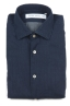 SBU 01633 Pure indigo dyed classic cotton shirt 06